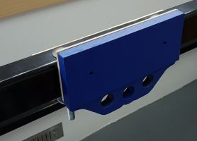 photo of vice faceplate on steel frame front